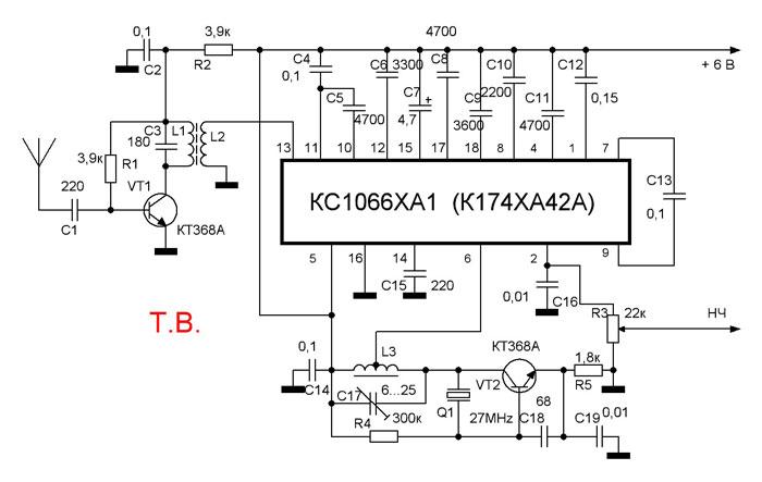 Микросхема К174ХА42А (аналог